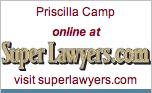 Priscilla Camp, 2009 Super Lawyer