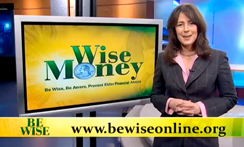 Be Wise, Be Aware, Prevent Elder Financial Abuse